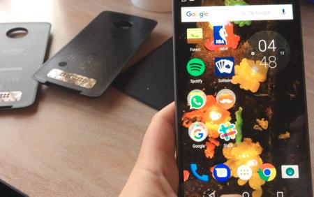 pantalla Moto Z