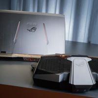 ASUS GX700, así es como luce la primera portátil 4K que usa enfriamiento líquido