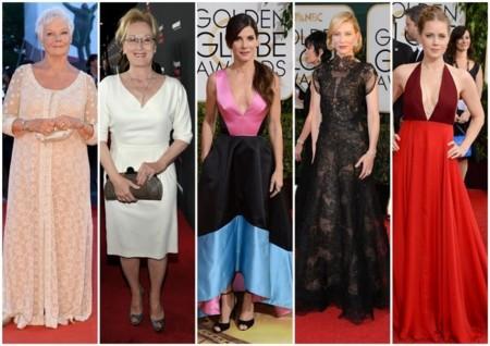 Nominadas Oscar mejor vestidas y mejor actriz
