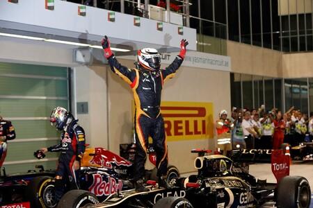 Raikkonen Abu Dabi F1 2012