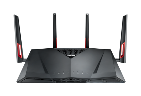 Asus Rt Ac88u Dual Band Ac3100 Gigabit Router Front