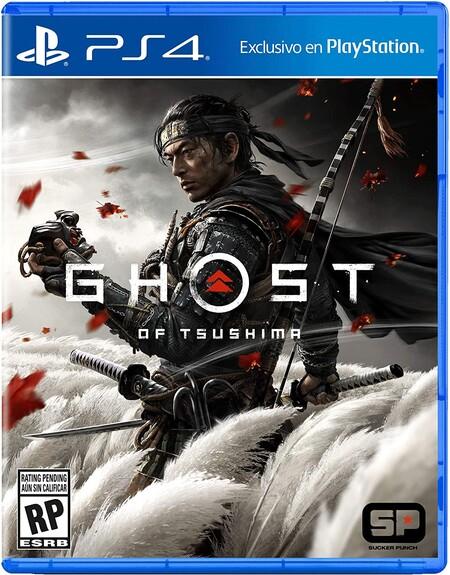 Amazon México, Ghost of Tsushima para PlayStation 4 en oferta por Cyber Monday