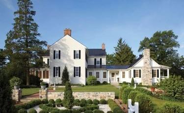 La espectacular mansión de la diseñadora de joyas americana Elizabeth Locke