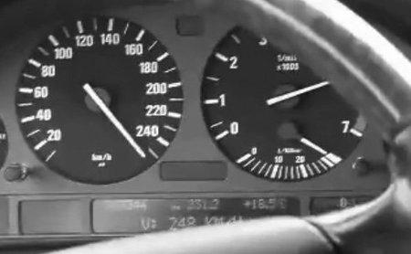 Nuevo récord de velocidad: 248 km/h en la A-5