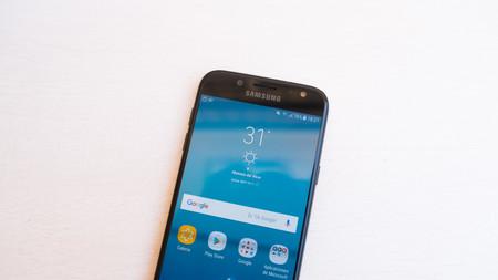 La pantalla del Samsung Galaxy J5 2017