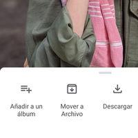 Google Fotos para Android renueva su menú de opciones integrándose en el panel deslizante de información