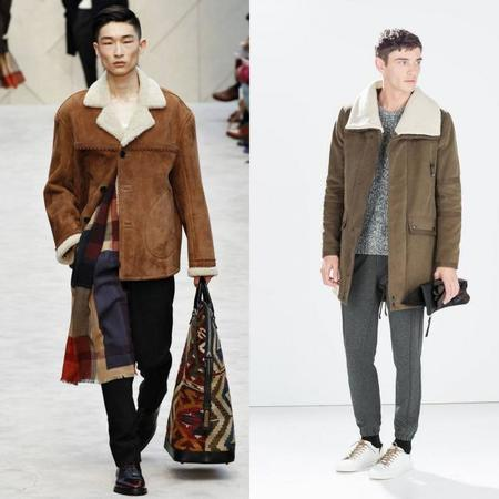 Burberry Clones Zara Otoño Invierno 2014