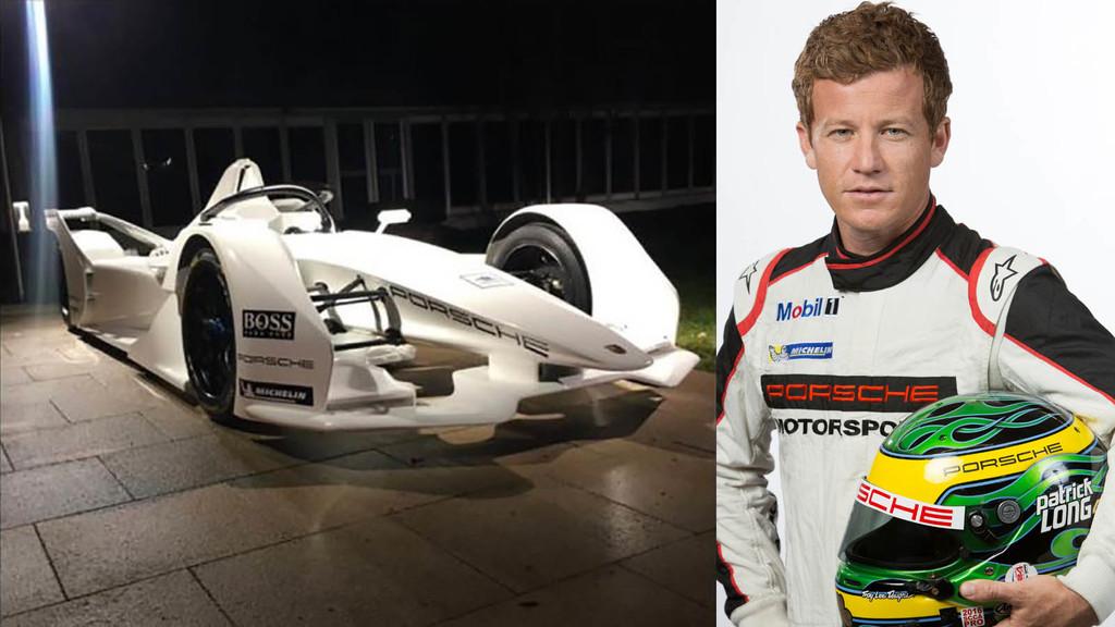 Porsche no quería que vieras aún su coche para Fórmula E, pero sus pilotos lo sacaron de todos modos en sus historias de Instagram