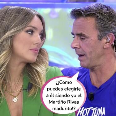 La gran cagada de Alonso Caparrós: se le escapa en 'Sálvame' el nombre de Marta Riesco (presunta amante de Antonio David Flores) y desvela su pasado en común con ella