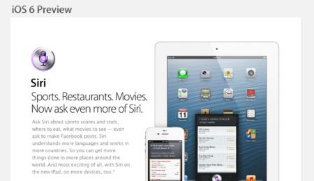 Siri en Español por fin gracias a iOS 6