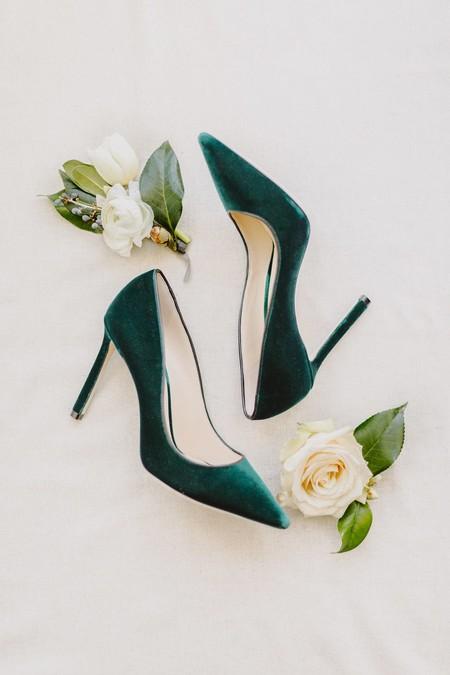 zapatos de novia para bodas de invierno