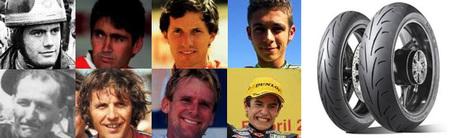 ¿Qué tienen en común estos héroes del asfalto? Dunlop