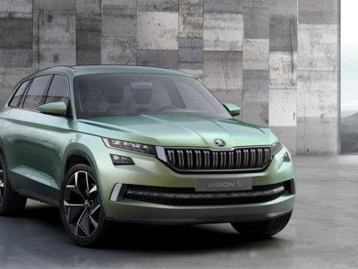 Škoda VisionS Concept: este prototipo de SUV checo es híbrido enchufable