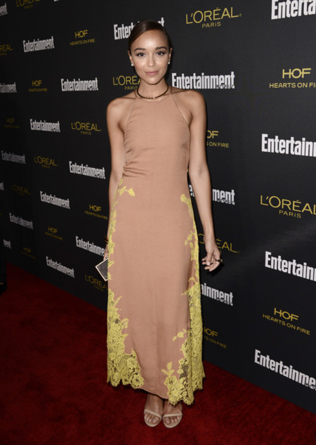 Ashley Madekwe fiestas emmy 2014