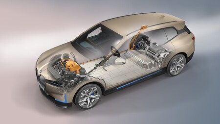 BMW iX esquema