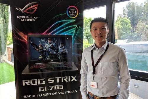 """""""Los portátiles gaming representan entre un 15 y 20% de nuestras ventas"""", Dennis Hsieh (Country Manager de ASUS Ibérica)"""