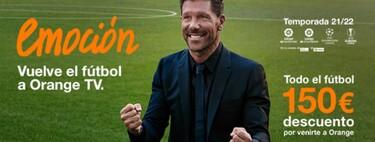 Orange volverá a ofrecer fútbol la próxima temporada, desde 70 euros, junto a nuevas tarifas de fibra y móvil