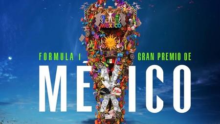 En Metepec, Estado de México crearon este espectacular árbol de la vida para promocionar el Gran Premio de la Fórmula 1