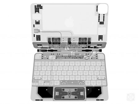 rayos x magic keyboard