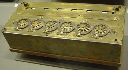 Pascalina, una de las primeras calculadoras mecánicas