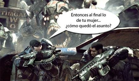 Gears of War 2 - Marcus y Dom