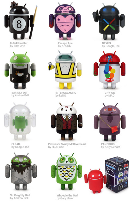 Figuras Android Mini Series 03