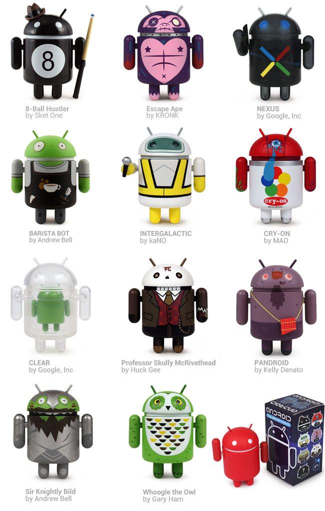 Figuras Android Mini Series 03