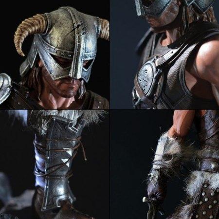 Escultura de Skyrim