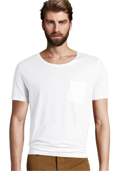 Camiseta básica de H&M