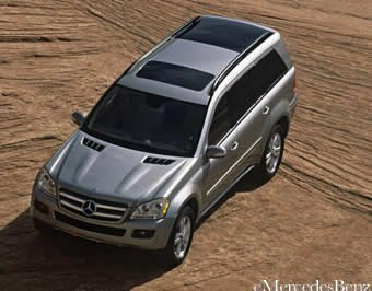Mercedes Clase GL, oficial