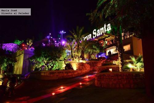 Cova Santa, el impresionante restaurante del grupo Amnesia en Ibiza
