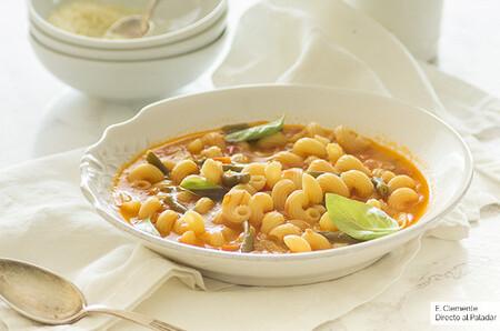 Cómo hacer sopa minestrone: receta del gran plato de cuchara de Italia