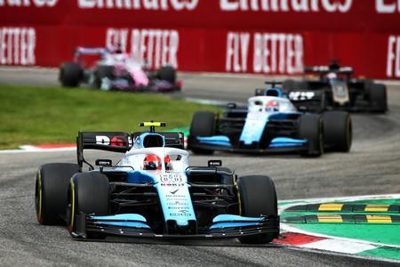Kubica Monza F1 2019
