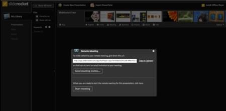 SlideRocket pasa a beta pública con opciones de colaboración