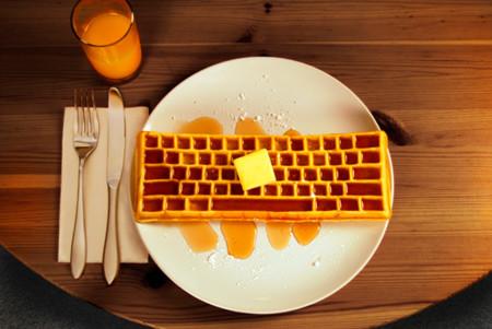 Keyboard Waffle Iron, ahora tus wafles serán como el teclado de tu computadodra