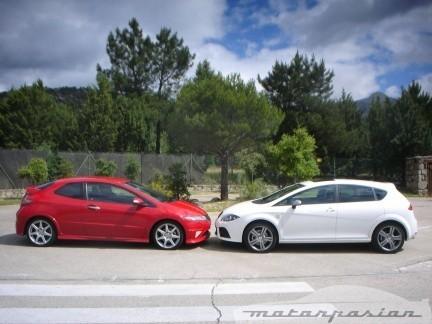 Honda Civic Type-R contra SEAT León FR