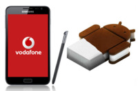 Samsung Galaxy Note (Vodafone) se actualiza a Ice Cream Sandwich