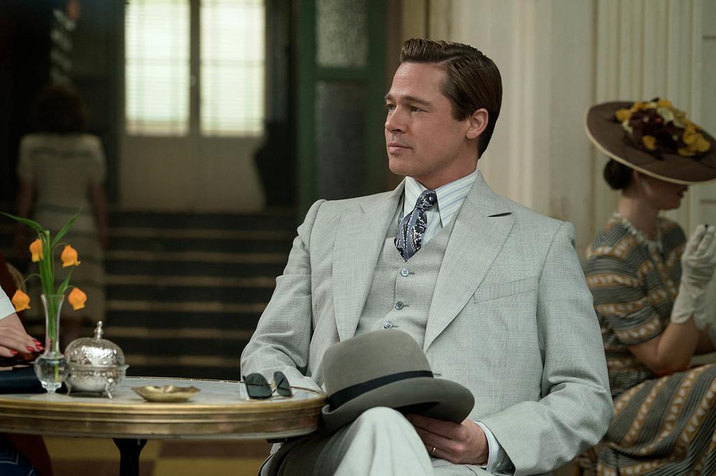 Foto Brad Pitt En Aliados