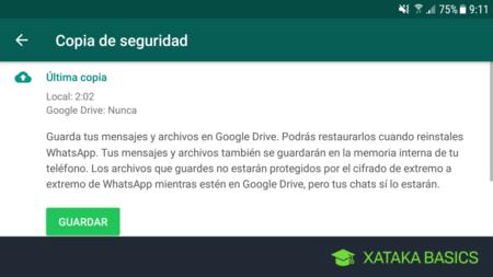 Dónde está la copia de seguridad de WhatsApp en Google Drive y para qué sirve