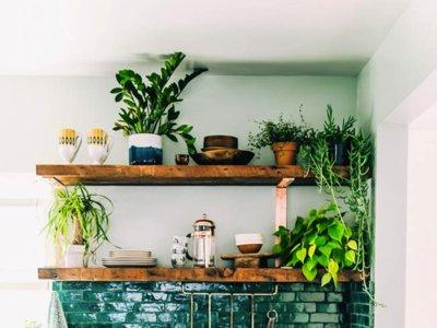 La semana decorativa: verde que te quiero verde en interiores, terrazas y en las bodas de septiembre