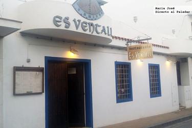 Restaurante Es Ventall, en el pueblo ibicenco de San Antonio