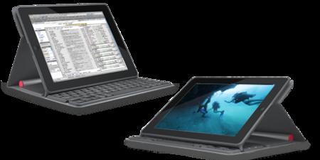 Dos posiciones para utilizar el teclado. En la de reproducción multimedia, las teclas cambian su función automáticamente