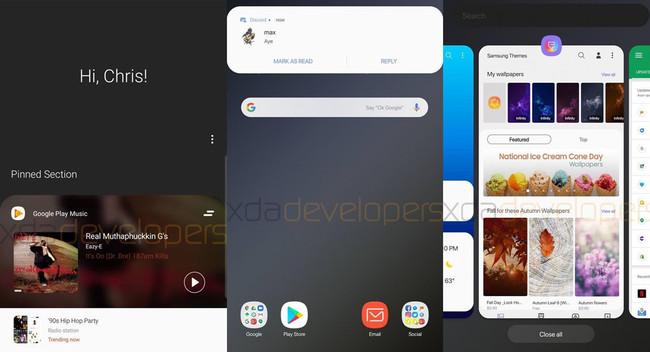 Así luce Android Pie en un Samsung Galaxy S9