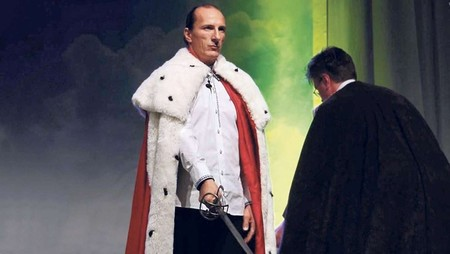 Peter Fitzek, el autoproclamado rey de Alemania que dirige un movimiento de extrema derecha