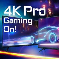 Gigabyte anuncia su nuevo monitor gigante: el Aorus FV43U con 43 pulgadas, resolución 4K y hasta 144 Hz en pantalla