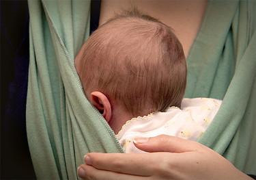 Casi la mitad de los bebés de dos meses tiene plagiocefalia (cabeza plana)