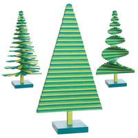 árboles de navidad minimalistas