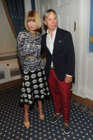 Anna Wintour en la 2010 Fashion's Night Out Kick-Off