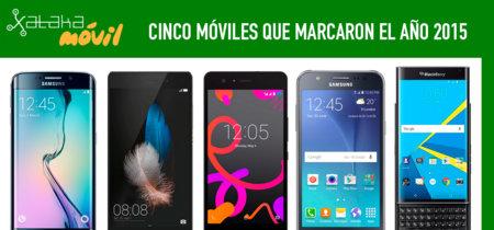 Cinco móviles que marcaron el año 2015
