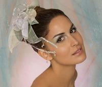 Tocados de novia de Blanco&Belmonte